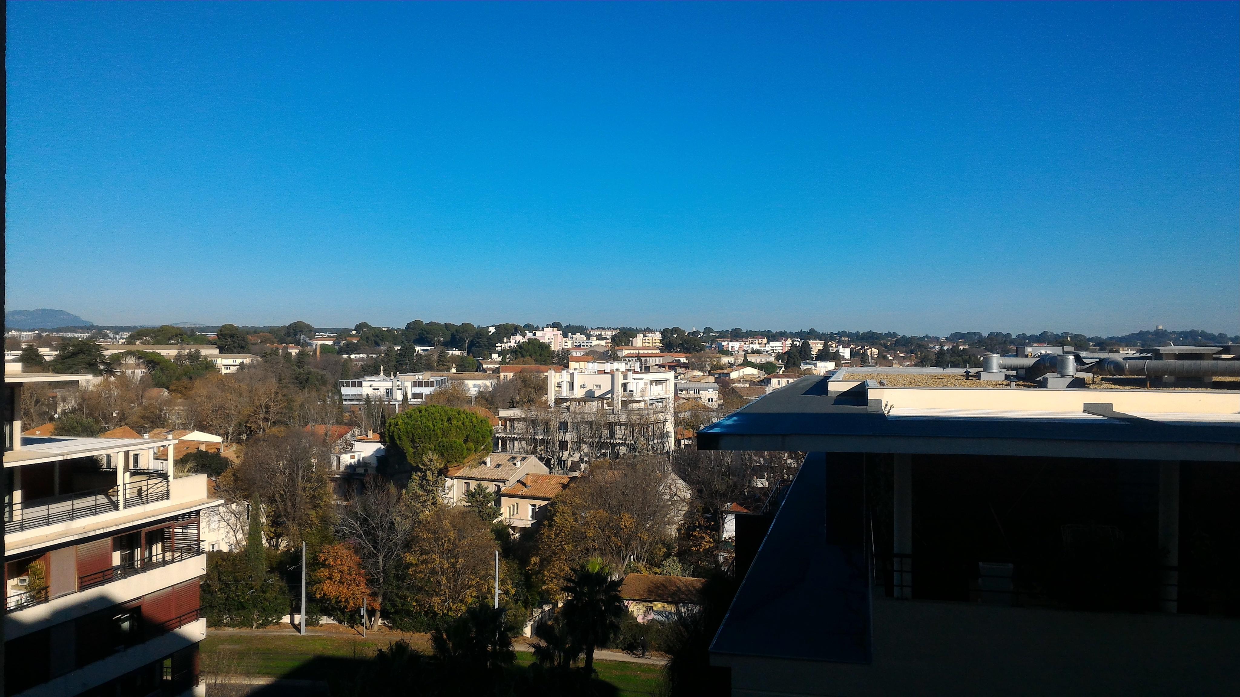 T1 Montpellier vue dégagée residence St charles Vincent Coudé immobilier