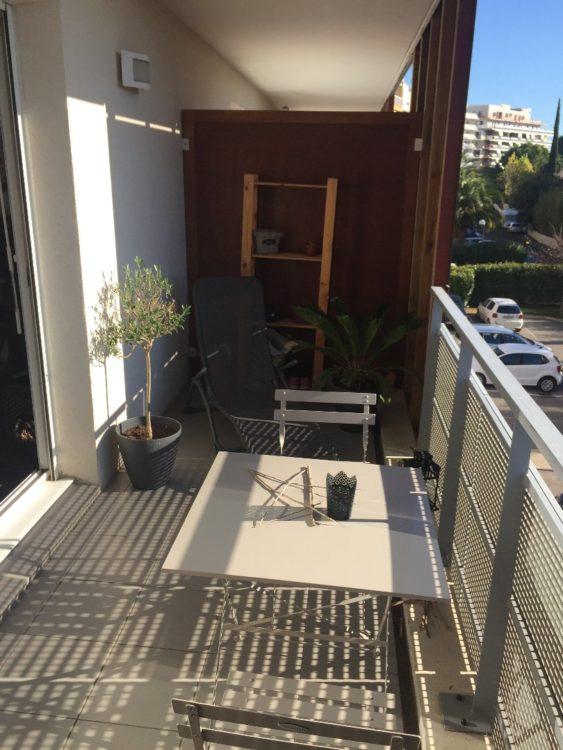 Vente T2 loué Montpellier avec terrasse